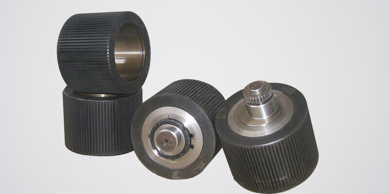 a picture of gemco pellet mill roller and roller shell products