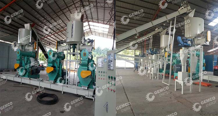 Gemco EFB pellet plant in Malaysia