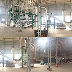Gemco built 1 ton wood pellet plant in Britain