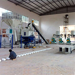 Gemco built 2 ton wood pellet plant in Australia