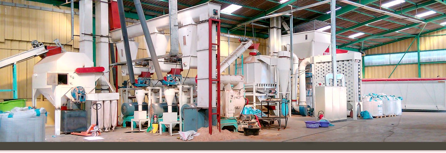 a picture of Gemco pellet plant in Malaysia
