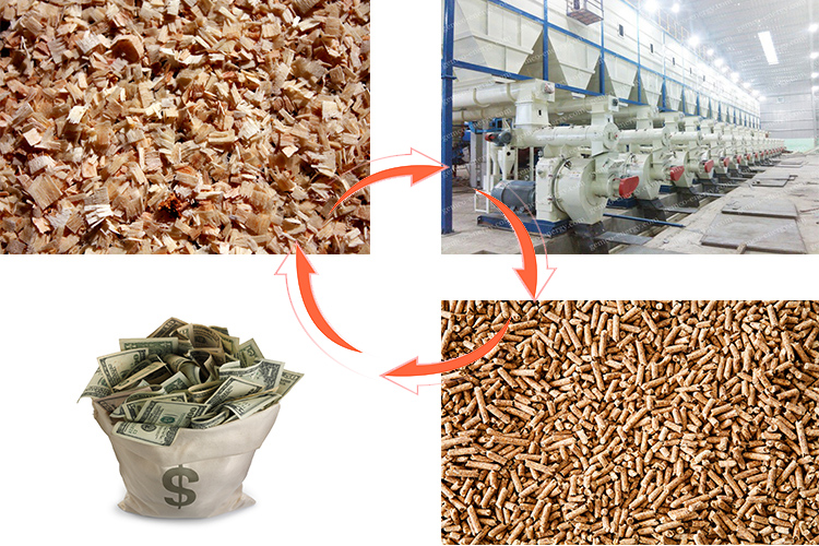 how a pellet plant make profits