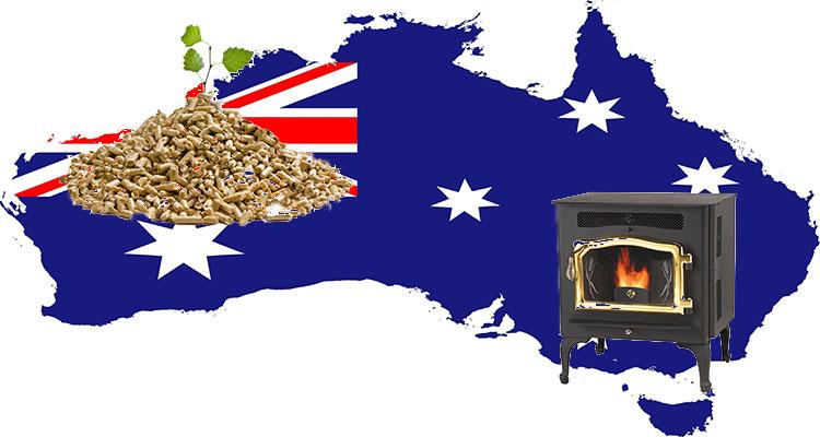 A picture about Australian wood pellet applications