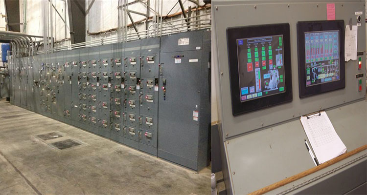 pellet plant safety control system