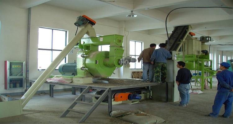 pellet equipment debugging