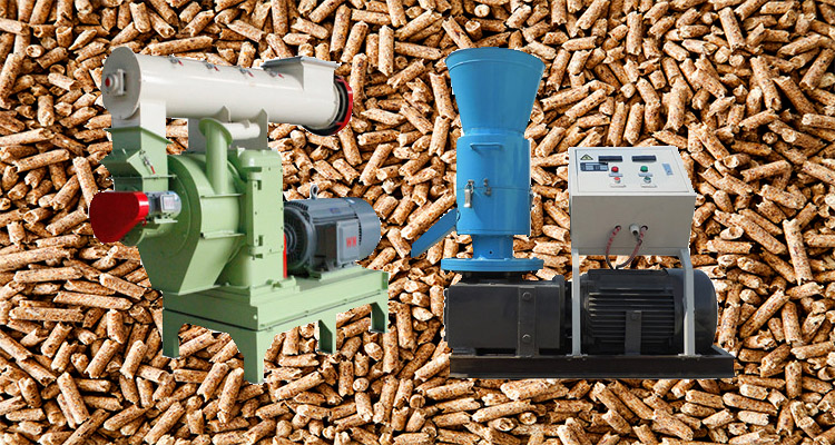 a picture of different types of pellet mill