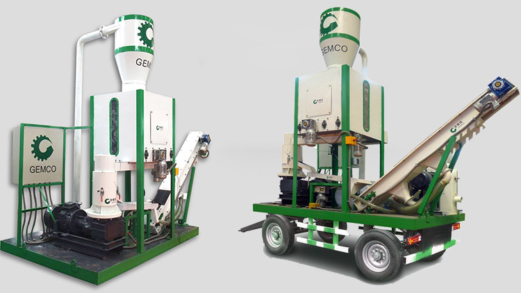 a picture of Gemco mobile pellet plant