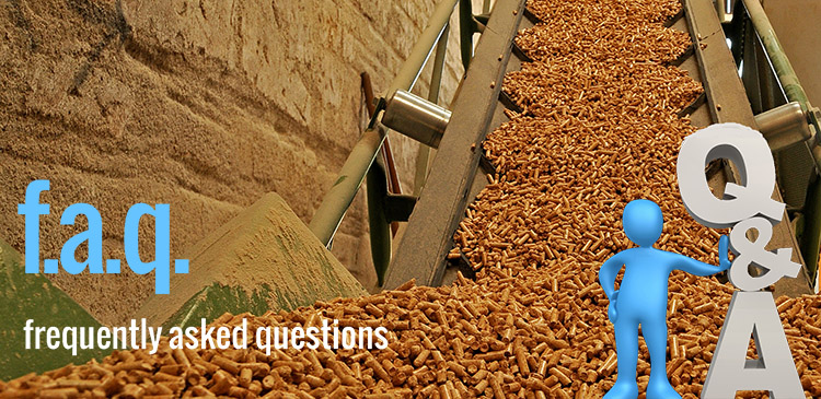 a picture about the questions of biomass pellet plant