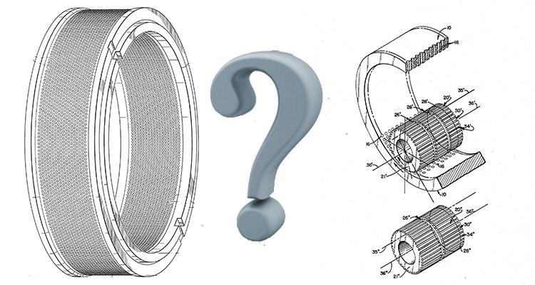 ring die pellet mill wearing parts