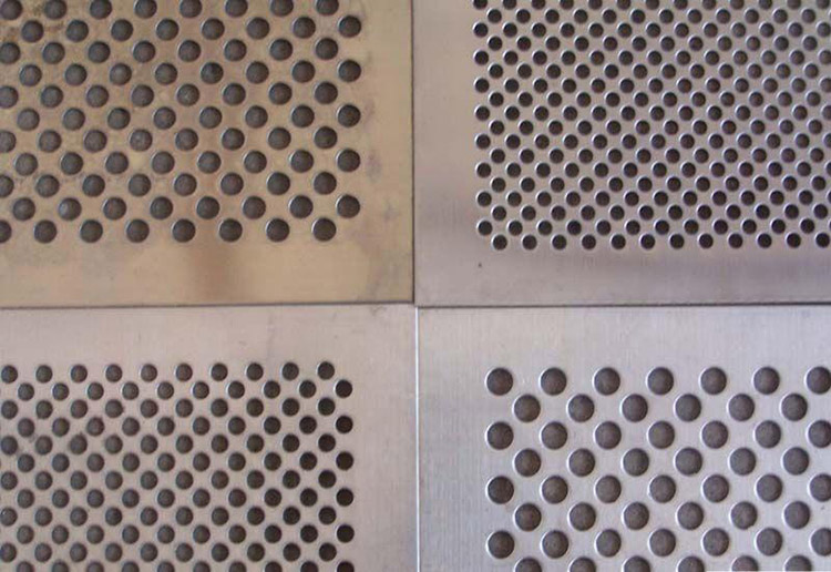a picture of hammer mill sieve with different diameters
