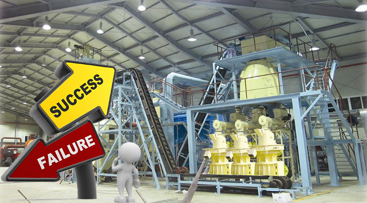 a picture of the solutions for pellet mill