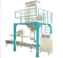 a picture of pellet packing machine