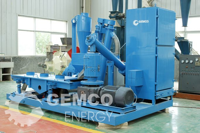 the second generation of Gemco mobile pellet plant