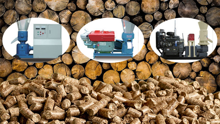 different types of flat die pellet mill