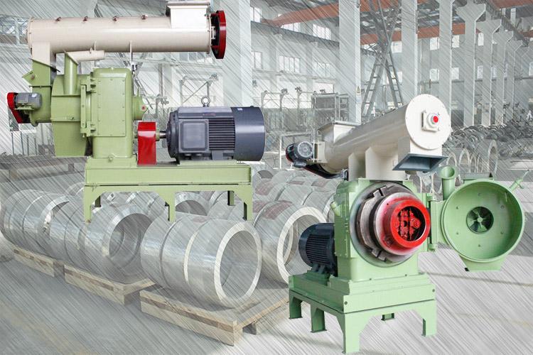 ring die pellet mills in the factory