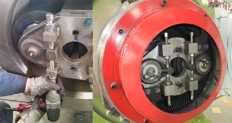 pellet mill ring die details