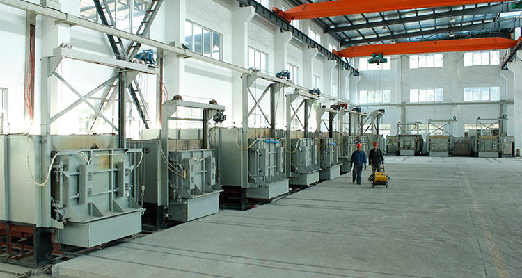 equipment for ring die heat treatment