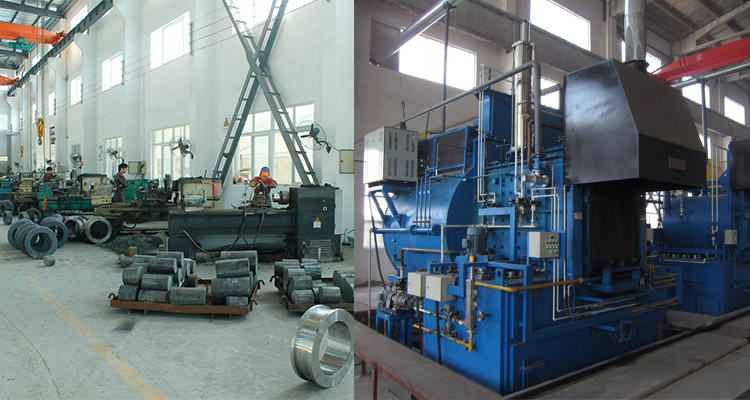 equipment to manufacture ring dies