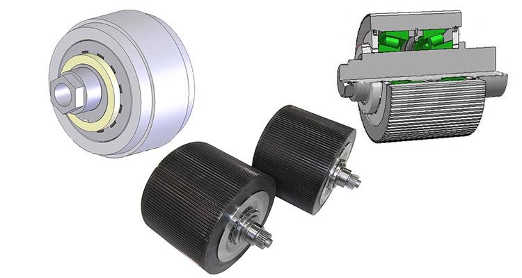 rollers for ring die pellet mill