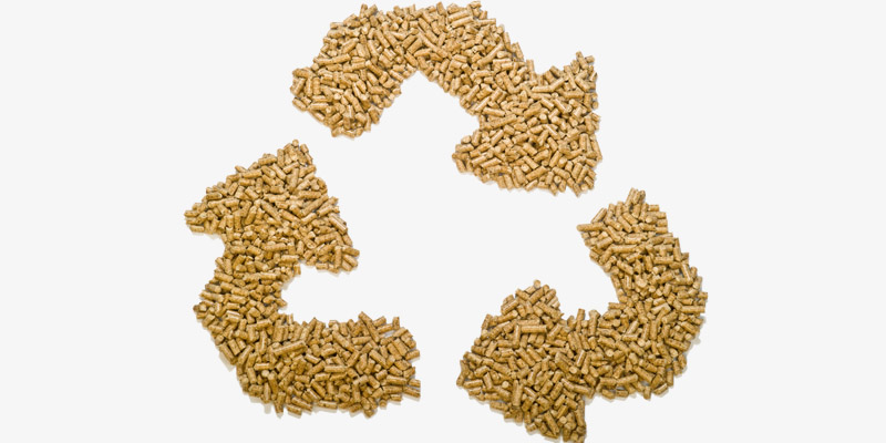a picture of quality biomass pellet