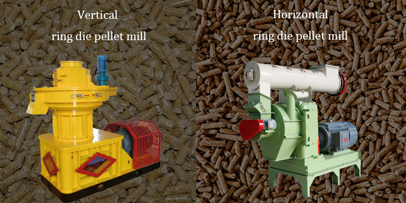 a picture of different types of ring die pellet mill