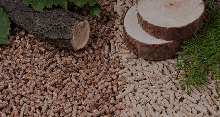 hard wood pellet and soft wood pellet