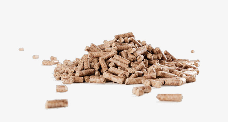 wood pellet sample