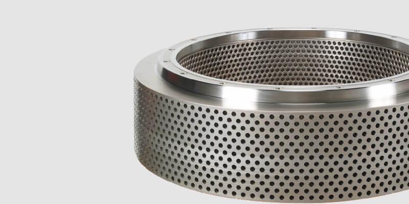 pellet mill ring die produced by gemco