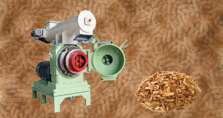 wood pellet machine and wood pellet materials