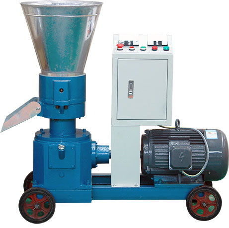 The image of a cattle feed pellet machine